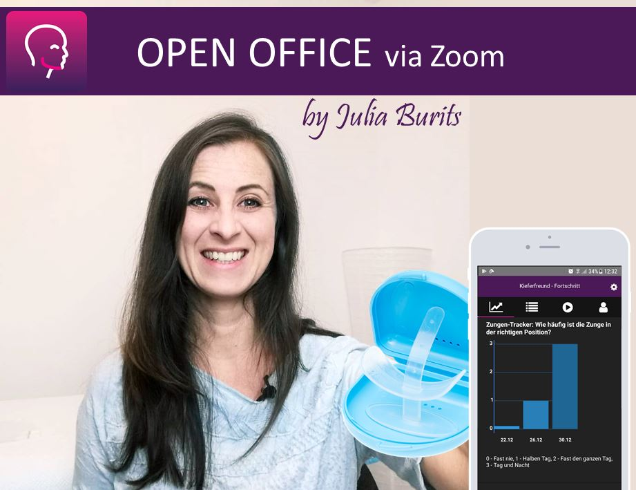 Julia running open office sessions